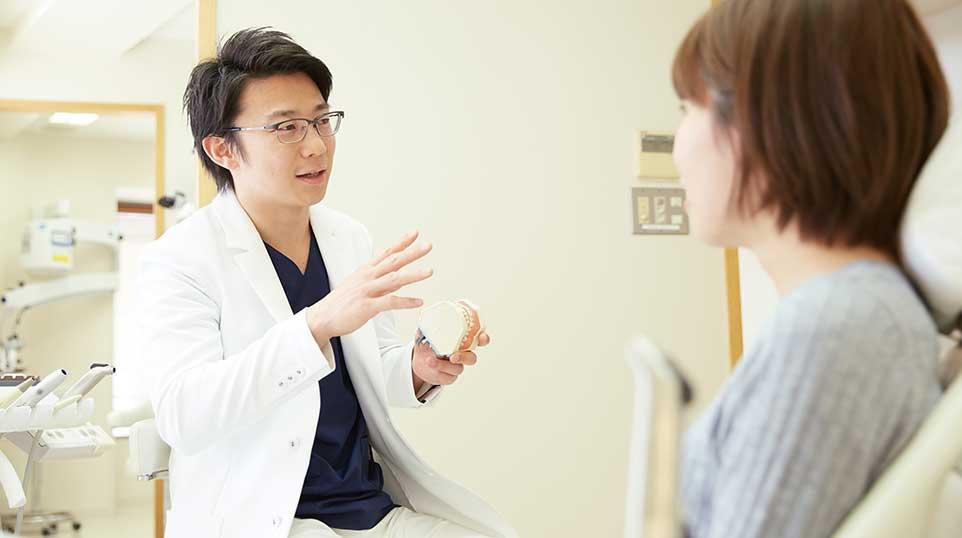 院長と患者の会話
